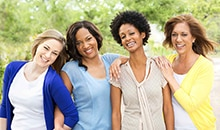 Women's wellness options, such as annual well woman exams, help you take charge of your health.